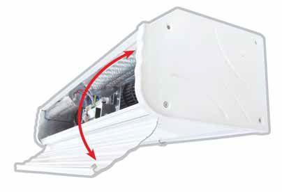 Olefini APEH-16 Genel Tip Hava Perdesi Isıtıcılı 160 CM