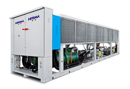 Hitema ITC Hava soğutmalı sulu chiller inverter vidalı kompresör - R134a